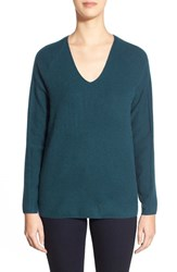 Women's Nordstrom Collection V Neck Cashmere Sweater