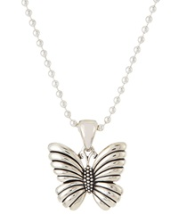 Lagos Rare Wonder Sterling Silver Butterfly Necklace