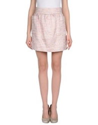 Chlotilde Mini Skirts Light Pink