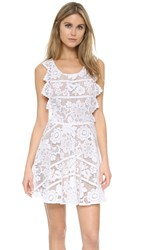 For Love And Lemons Gianna Dress White