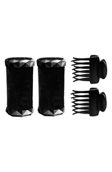 T3 Tourmaline Voluminous Hot Rollers And Clips 1.25 Inch 2 Pack