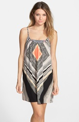 Rip Curl 'Tribal Beat' Cover Up Juniors Black Multi