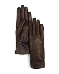 Urban Research Ur Stretch Side Panel Tech Gloves Brown