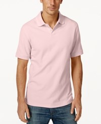 Club Room Big And Tall Men's Polo Shirt Only At Macy's Sorbet Pink