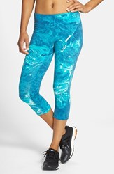Women's New Balance 'Premium Performance' Capris Water Vapor Sea Glass Heather