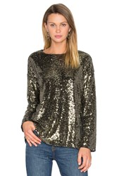 House Of Harlow X Revolve Jamie Tee Metallic Gold