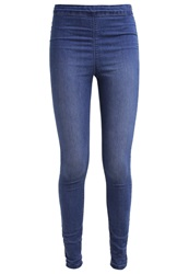 Dorothy Perkins Lyla Slim Fit Jeans Midwash Denim Blue
