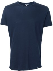 Orlebar Brown Fitted T Shirt Blue