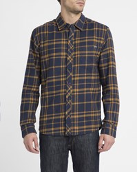Ezekiel Camel Big Ed Checked Flannel Shirt