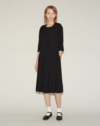 Comme Des Garcons Ester Oxford Dress Black