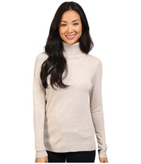 Pendleton Timeless Turtleneck Soft Almond Heather Women's Clothing Beige