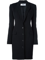 Chalayan Signature Fitted Long Jacket Black