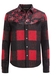 Valentino Jacket With Wool And Mohair Red