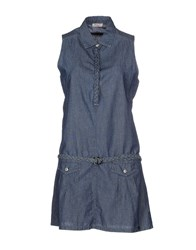 Roy Rogers Roy Roger's Dresses Short Dresses Women Blue