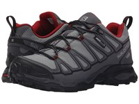 Salomon X Ultra Prime Cs Wp Pearl Grey Dark Cloud Flea Men's Shoes Black