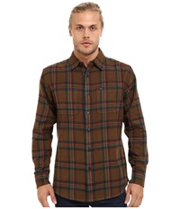 Matix Clothing Company Lincoln Flannel Tobacco Men's Clothing Brown