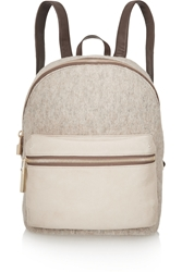 Elizabeth And James Cynnie Wool Suede And Leather Backpack