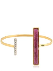 Jade Jagger Asymmetrical Bangle Bracelet