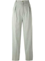 Jean Louis Scherrer Vintage High Waist Trousers Grey