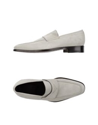 Canali Moccasins Light Grey