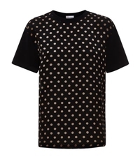 Red Valentino Polka Dot T Shirt
