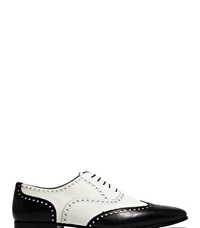 Saint Laurent Lace Up Leather Shoes Black