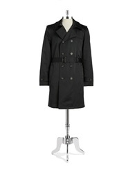 Lauren Ralph Lauren Belted Trench Coat Black