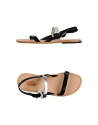 Local Apparel Sandals Black