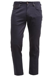 Wrangler Arizona Trousers Navy Washed Dark Blue
