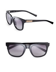 Calvin Klein 53Mm Wafarer Sunglasses Black