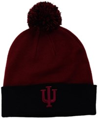 Top Of The World Indiana Hoosiers 2 Tone Pom Knit Hat