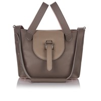 Meli Melo Women's Thela Mini Tote Bag Taupe Dusty Pink