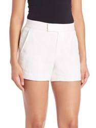 Polo Ralph Lauren Linen Oxford Shorts White