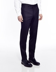 The Idle Man Suit Trousers In Slim Fit Black
