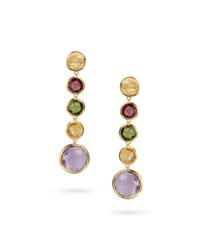 Jaipur Color Multicolor Drop Earrings