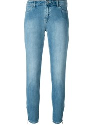 Armani Jeans Stonewashed Jeans Blue