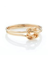 Erica Weiner Lovers Knot Ring Gold