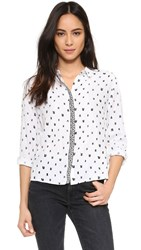 Suncoo Lovely Button Down Blanc Casse