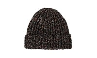 Whistles Donegal Wool Blend Hat Black Multi