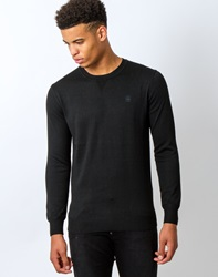 G Star G Star Below Jumper Long Sleeve Aril Knit Black