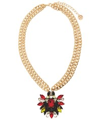 Maiocci Collection Mauka Red Hand Made Necklace