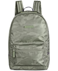 Tommy Hilfiger Men's Alexander Camo Backpack Olive Camo