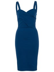French Connection Lula Stretch Strappy Dress Indian Ocean