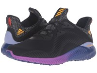 Adidas Alpha Bounce Core Black Solar Gold Ice Purple Men's Running Shoes