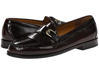 Cole Haan Pinch Buckle Burgundy Men's Slip On Dress Shoes