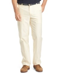 Izod Men's Belted Oxford Pants Sunlight