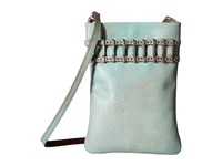 Leather Rock Ce35 Turquoise Cross Body Handbags Blue