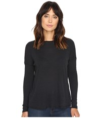 Volcom Lived In Go Pullover Crew Black Women's Long Sleeve Pullover