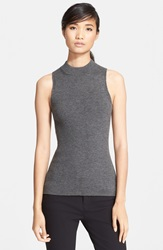 Rag And Bone 'Alanna' Sleeveless Merino Wool Top Medium Grey