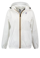 K Way Kway Claudette Summer Jacket White Off White
